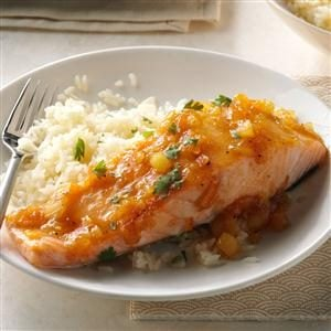 Hoisin-Pineapple Salmon Recipe