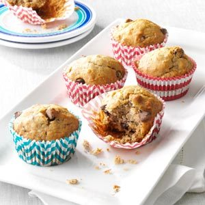 Favorite Banana Chip Muffins Recipe