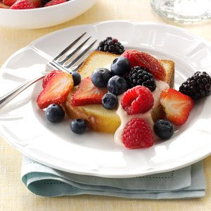 Berries & Cream Bruschetta Recipe