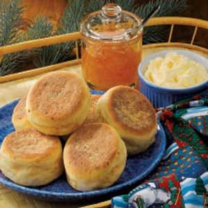 Cheddar English Muffins Recipe