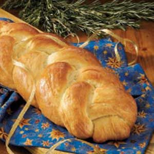 Rosemary Garlic Braid Recipe