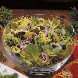 Vinaigrette for Mixed Greens Recipe