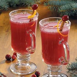 Hot Cranberry Citrus Drink Recipe
