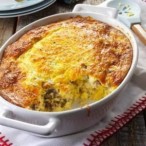 Sausage Egg Bake Recipe