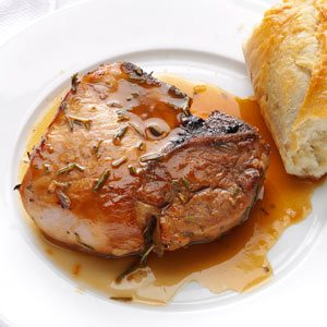 Rosemary Marinated Pork Chops Recipe