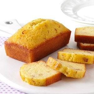 Little Amaretto Loaf Cakes Recipe