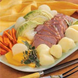 Boiled New England Dinner Recipe