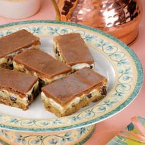 Chocolate Cheese Layered Bars