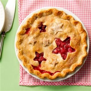 Juicy Raspberry Pie Recipe