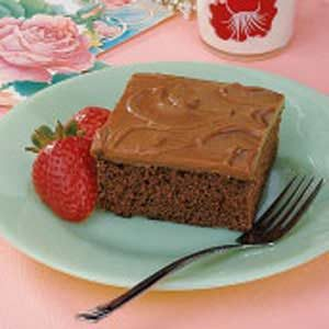 Frosted Chocolate Sheet Cake Recipe