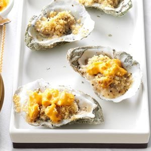 Baked Oysters with Tasso Cream Recipe