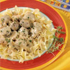 Beefy Mushroom Meatballs Recipe