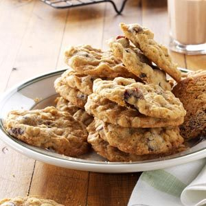Cherry-Chocolate Oatmeal Cookies Recipe
