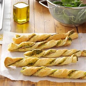 Pesto Twists Recipe