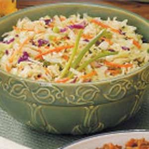 Tangy Cabbage Slaw Recipe