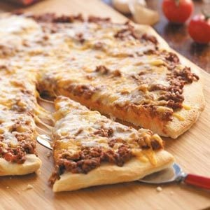 Sloppy Joe Pizza Recipe
