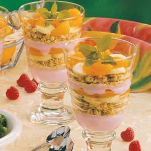 Breakfast Sundaes Recipe