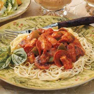 Zesty Turkey Spaghetti Sauce Recipe