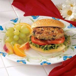 Great Grain Burgers Recipe