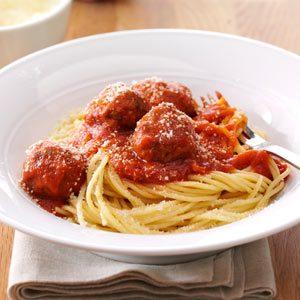 Italian Spaghetti & Meatballs Recipe