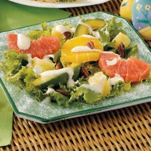 Gingered Citrus-Avocado Salad Recipe