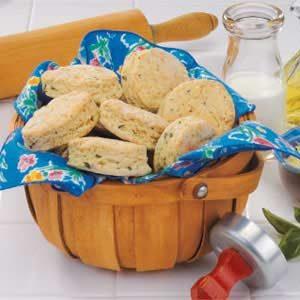 Parmesan Basil Biscuits Recipe