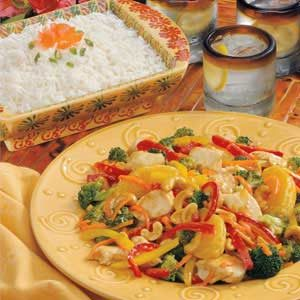 Orange-Ginger Chicken and Veggies Recipe