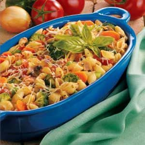 Bacon 'n' Veggie Pasta Recipe