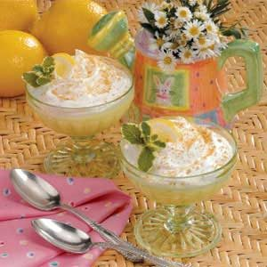 Lemon Chiffon Dessert Recipe
