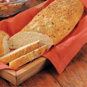 Herb-Crusted Bread Recipe