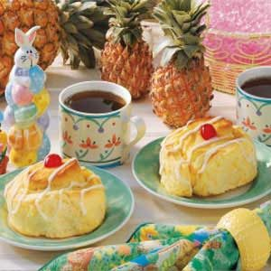 Jumbo Pineapple Yeast Rolls Recipe