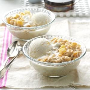 Apple Pie Oatmeal Dessert Recipe