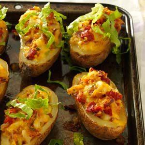 Twice-Baked Potatoes
