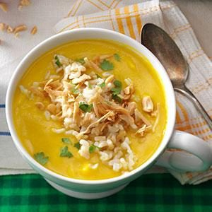 Ginger Butternut Squash Bisque Recipe