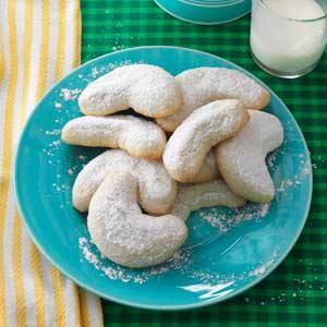 Vanilla Crescents Recipe