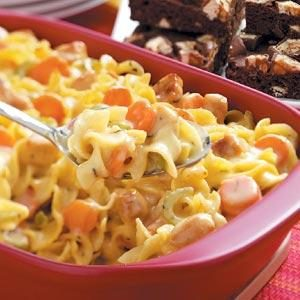 Hearty Chicken Noodle Casserole Recipe