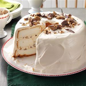 Toffee Angel Food Cake Recipe