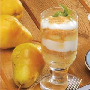 Pear Parfaits Recipe