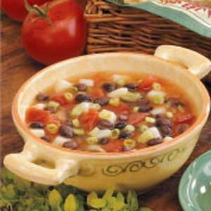 Vegetarian Black Bean Soup Recipe