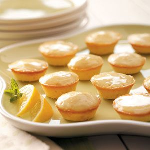 Moist Lemon Tea Cakes Recipe