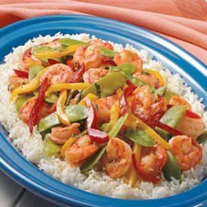 Garlic Shrimp Stir-Fry Recipe