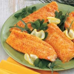 Baked Parmesan Fish Recipe