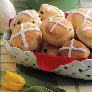 Cinnamon Hot Cross Buns Recipe