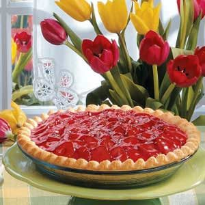 Strawberry Satin Pie Recipe