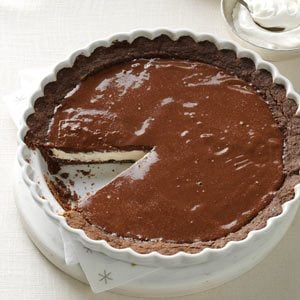 Chocolate Eggnog Pie Recipe