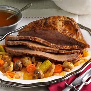 Braised Hanukkah Brisket Recipe
