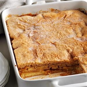 Chunky Apple-Cinnamon Cake Recipe