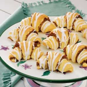 Nut-Filled Butterhorns Recipe