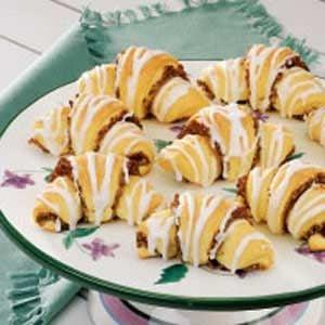 Nut-Filled Butterhorns Recipe