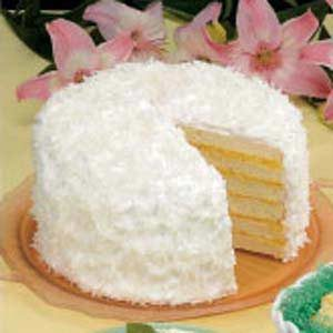 Six-Layer Coconut Cake Recipe
